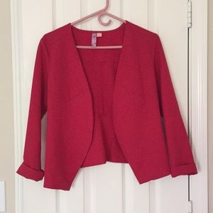 Red blazer/jacket